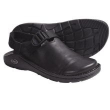 Chaco ToeCoop Shoes - Leather, Slip-Ons (For Men) in Black Smooth - Closeouts