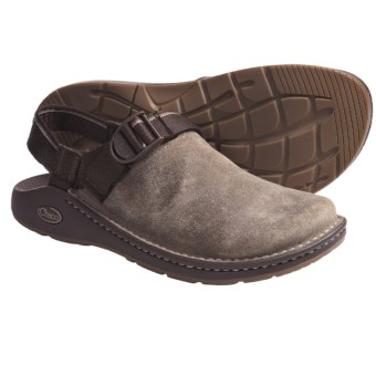 Chaco ToeCoop Shoes - Leather, Slip-Ons (For Men) in Brindle/Travel