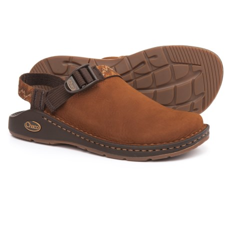 Chaco ToeCoop Shoes - Leather, Slip-Ons (For Women) in Cafe