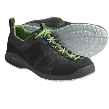 Chaco Torlan Shoes - Leather (For Men) in Green Ridgeline