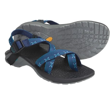 Chaco Updraft 2 Sport Sandals - Toe Loop (For Women) in Garden Rain