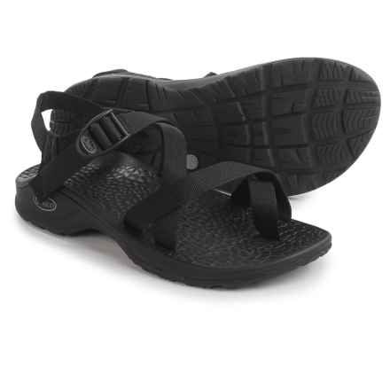 Chaco Updraft EcoTread Sport Sandals (For Men) in Black - Closeouts