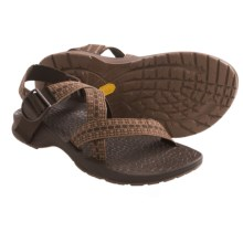 Chaco Updraft Genweb Sport Sandals (For Men) in Flint Brown - Closeouts