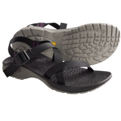 Chaco Updraft Genweb Sport Sandals (For Women) in Black