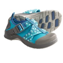 Chaco Vitim EcoTread Water Shoes (For Kids and Youth) in Petunia - Closeouts