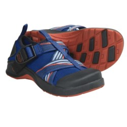 Chaco Vitim EcoTread Water Shoes (For Kids and Youth) in Petunia
