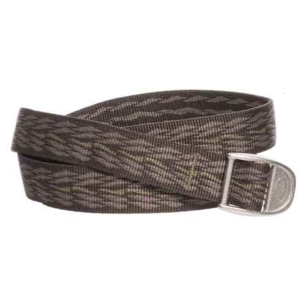 "Chaco Webbing Patterned Belt - 1"" (For Men and Women) in Saguaro Brindle - Closeouts"