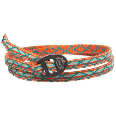 Chaco Wrist Wrap (For Men and Women) in Paloma Tangerine - Closeouts