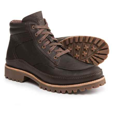Chaco Yonder Boots - Leather (For Men) in Baker Chocolate - Closeouts