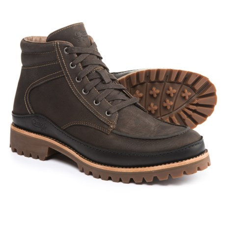 Chaco Yonder Boots - Leather (For Men) in Fossil