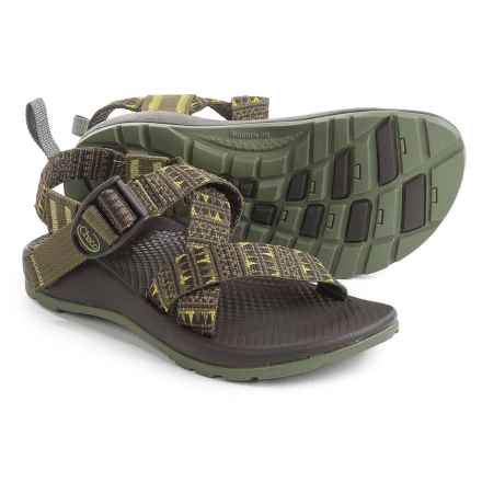 Chaco Z1 EcoTread Sandals (For Little and Big Kids) in Forest Points - Closeouts