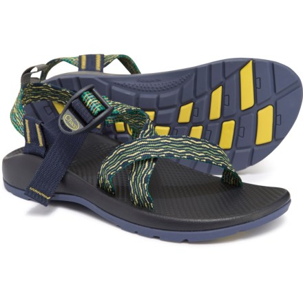d143ff87e Chaco Z1 Ecotread Sport Sandals (For Boys) in Rio Green