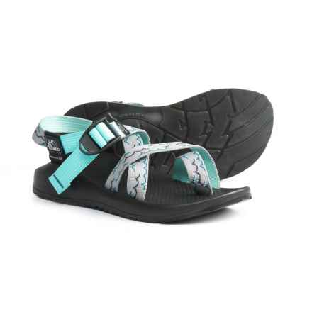 Chaco Z2 Colorado Sport Sandals (For Women) in Waves Gray Teal - Closeouts