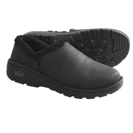 Chaco Zaagh Baa Shoes - Leather (For Women) in Black - Closeouts