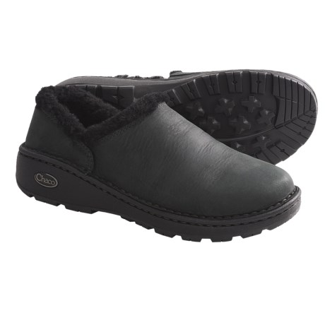 Chaco Zaagh Baa Shoes - Leather (For Women) in Black