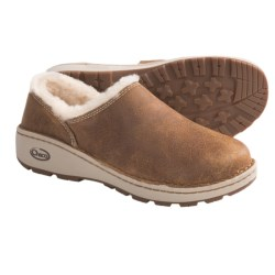 Chaco Zaagh Baa Shoes - Leather (For Women) in Sienna