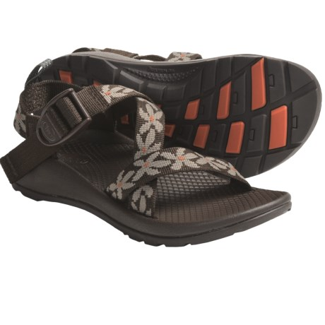 Chaco Z/1 Ecotread Sport Sandals (For Kids and Youth) in Water The Flowers