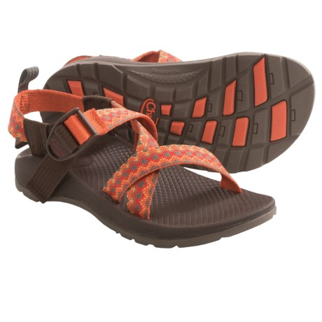 Chaco Z/1 Ecotread Sport Sandals (For Kids and Youth) in Mountain Range