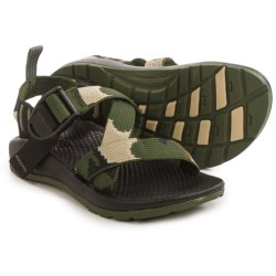Chaco Z/1 Ecotread Sport Sandals (For Little and Big Kids) in Camo