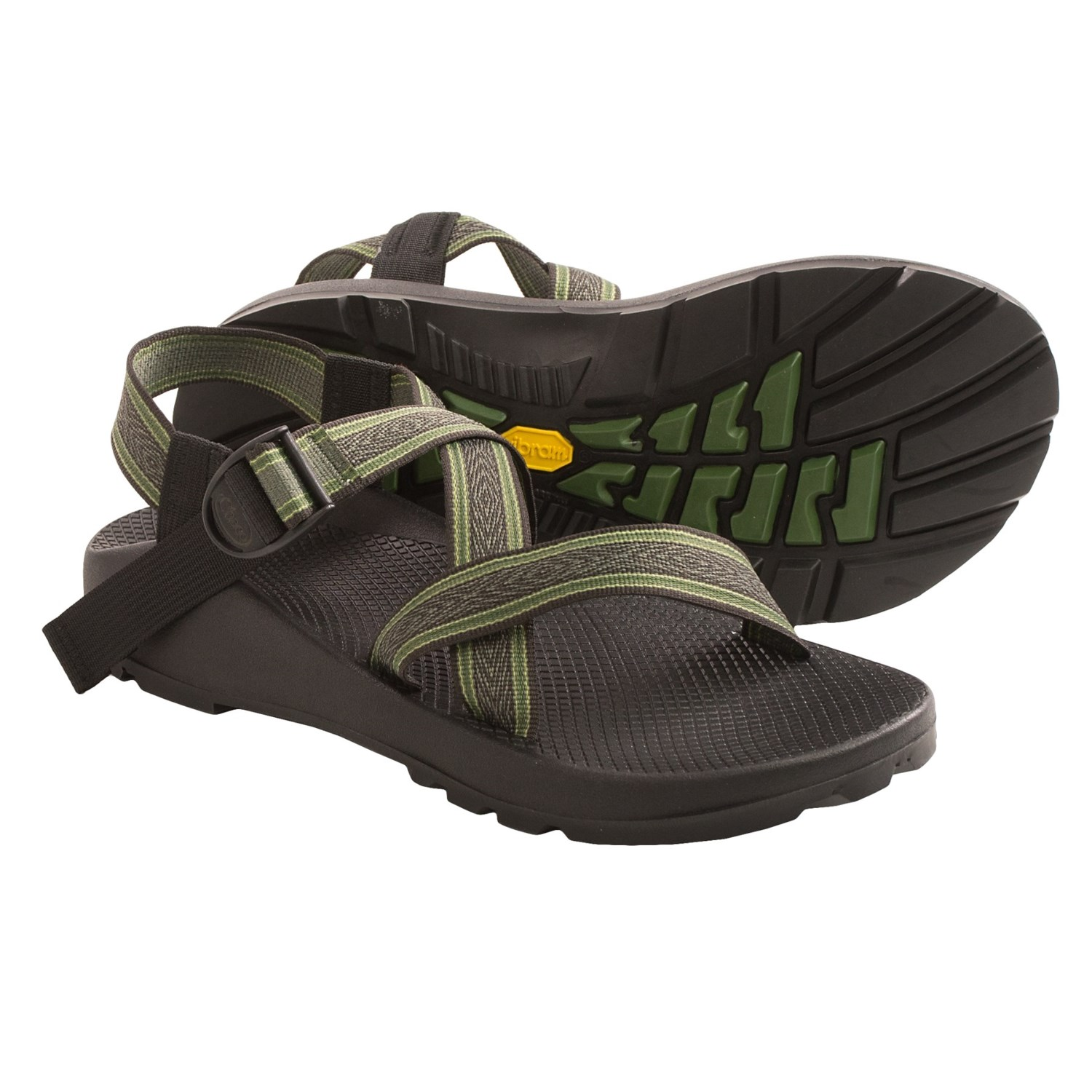 04c529c706e4 Chaco Z 1 Unaweep Sandals (For Men) in Forest Green ...