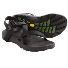 Chaco Z/1 Unaweep Sandals - Vibram® Outsole (For Women) in Black W/Black/Green Tread - Closeouts