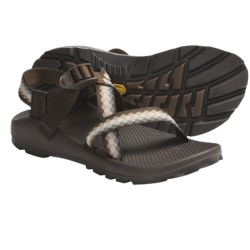 Chaco Z/1® Unaweep Sandals - Vibram® Outsole (For Women) in Black W/Black/Green Tread