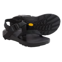 Chaco Z/1® Unaweep Sport Sandals - Vibram® Outsole (For Men) in Black - Closeouts