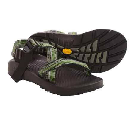 Chaco Z/1® Unaweep Sport Sandals - Vibram® Outsole (For Men) in Sawgrass - Closeouts