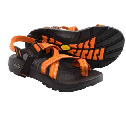 Chaco Z/2® Unaweep Spirit Sport Sandals - Vibram® Outsole (For Men) in Orange/White - Closeouts