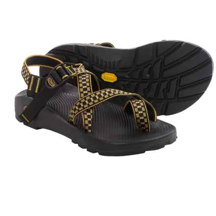 Chaco Z/2® Unaweep Tracks Sport Sandals - Vibram® Outsole (For Men) in Gold/Black - Closeouts