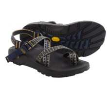 Chaco Z/2® Unaweep Tracks Sport Sandals - Vibram® Outsole (For Men) in Gold/Navy - Closeouts
