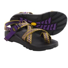 Chaco Z/2 Unaweep Tracks Sport Sandals - Vibram® Outsole (For Men) in Gold/Purple - Closeouts