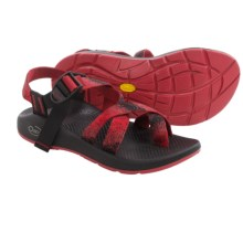 Chaco Z/2® Yampa Spirit Sport Sandals - Vibram® Outsole (For Women) in Red/Black - Closeouts