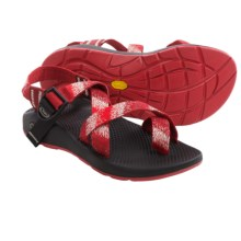 Chaco Z/2® Yampa Spirit Sport Sandals - Vibram® Outsole (For Women) in Red/White - Closeouts