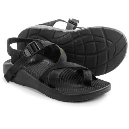 Chaco Z/2® Yampa Sport Sandals - Vibram® Outsole (For Men) in Black - Closeouts