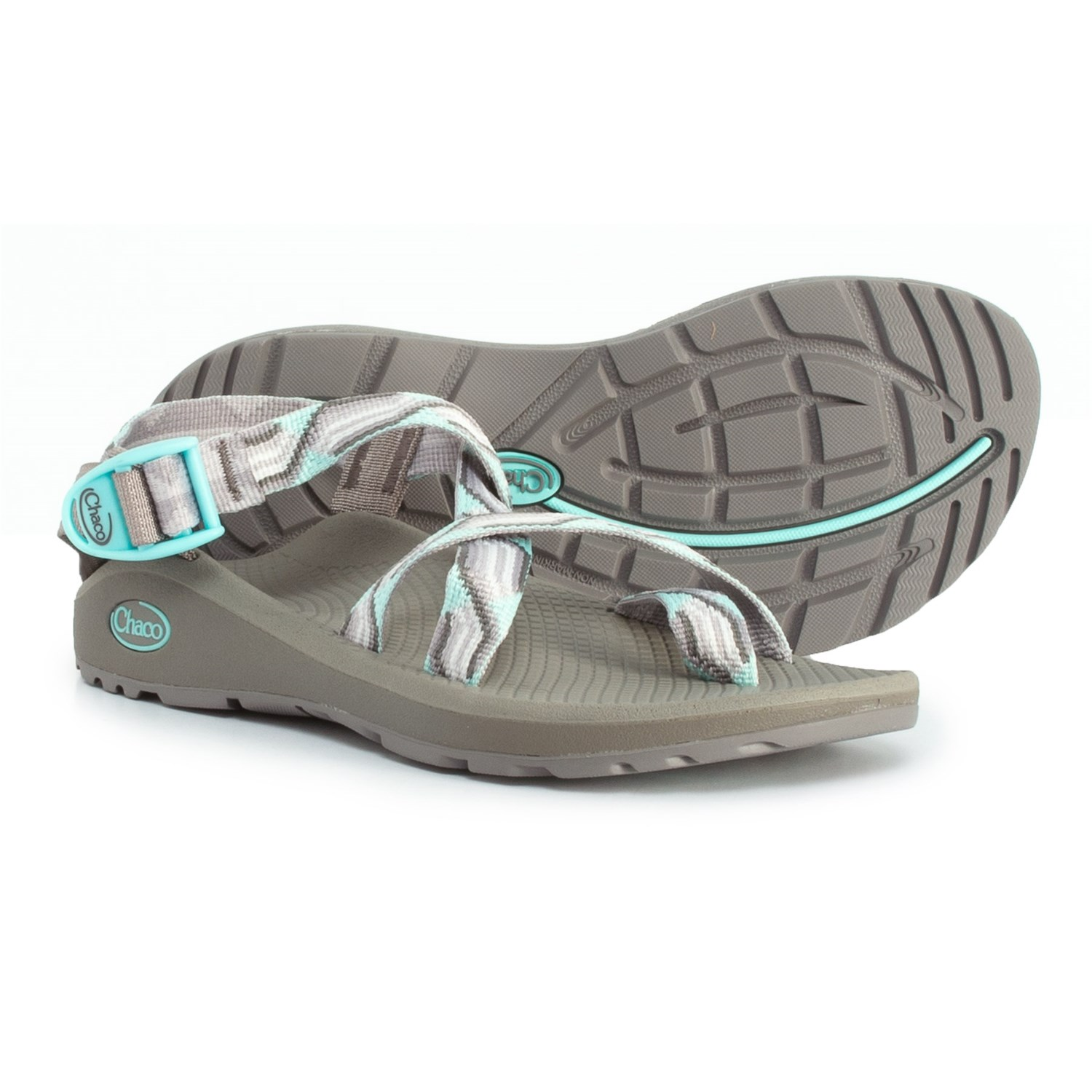 55a1f3bedc5c Chaco Z Cloud 2 Sport Sandals (For Women) in Gray ...
