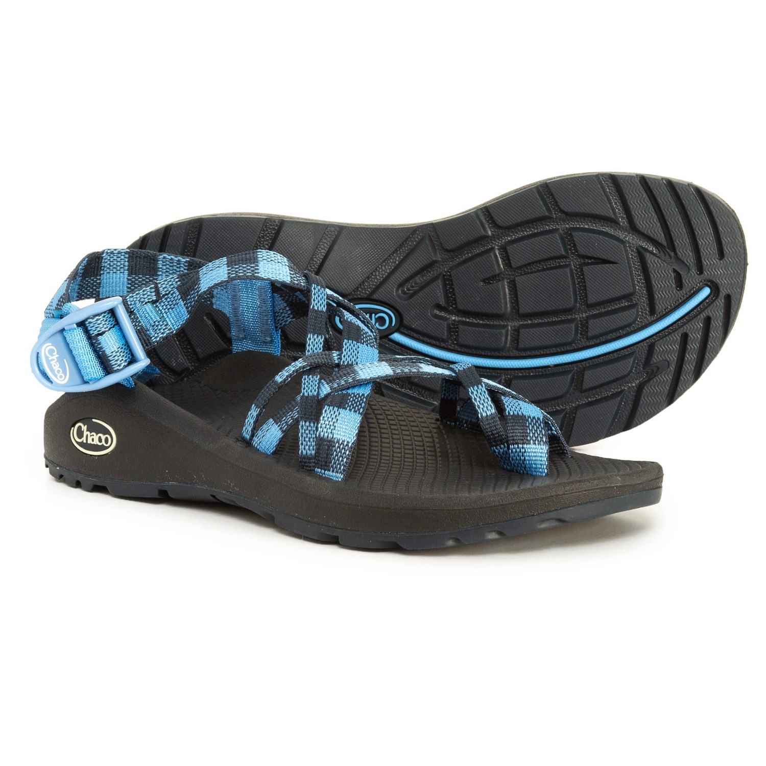 Chaco Z/Cloud X2 Sport Sandals (For Women) in Blue Eclipse ...