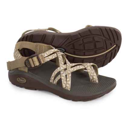 Chaco Z Cloud X2 Sport Sandals For Women In Kelp Knit