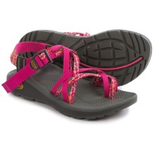 Chaco Z/Cloud X2 Sport Sandals (For Women) in Reef Reds - Closeouts