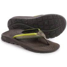 Chaco Z/Volv Flip-Flops (For Men) in Reptilia - Closeouts