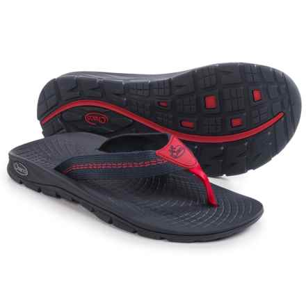 Chaco Z/Volv Flip-Flops (For Men) in Traffic Eclipse - Closeouts