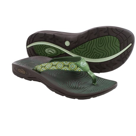 Chaco Z/Volv Flip Flops (For Women)