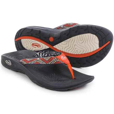 Chaco Z/Volv Flip-Flops (For Women) in Wicker Mandarin - Closeouts