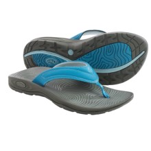 Chaco Z/Volv Flip Synth Sandals (For Women) in Blue Moon - Closeouts