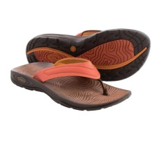 Chaco Z/Volv Flip Synth Sandals (For Women) in Mecca - Closeouts