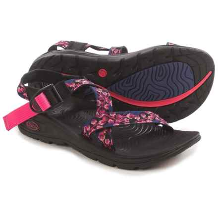 Chaco Z/Volv Sport Sandals (For Women) in Dark Reef - Closeouts