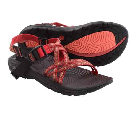 Chaco Z/Volv X Sport Sandals (For Women) in Textile Rouge - Closeouts