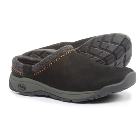 Chaco Zealander Clogs - Leather (For Men) in Black