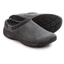 Chaco Zealander Clogs - Leather (For Men) in Blue Steel - Closeouts