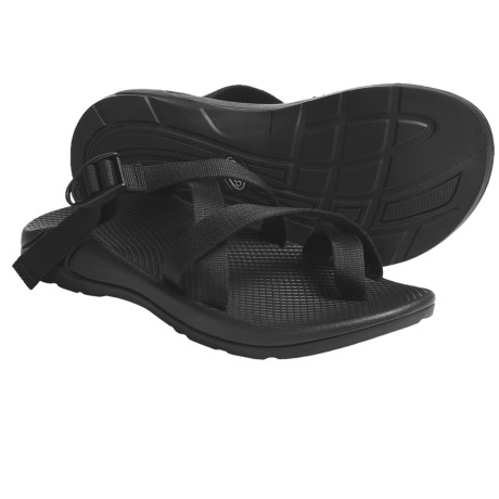 Chaco Zong EcoTread Sandals - Open Back (For Men) in Black